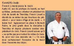 © Source - Tremblay Magazine n°104 - Mai 2009