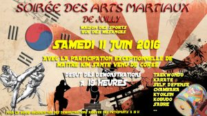 Participation du Karaté Club de Tremblay à la Soirée des Arts Martiaux de Juilly